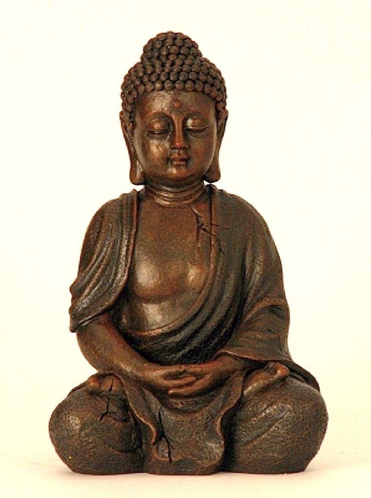 teelichthalter sitzender indischer mann orient asien figur 15x13x20cm feng shui ebay. Black Bedroom Furniture Sets. Home Design Ideas
