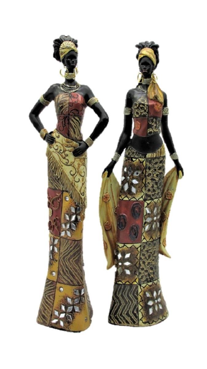 afrikanerin 35 cm figur afrikanische frau massai afrika deko ebay. Black Bedroom Furniture Sets. Home Design Ideas