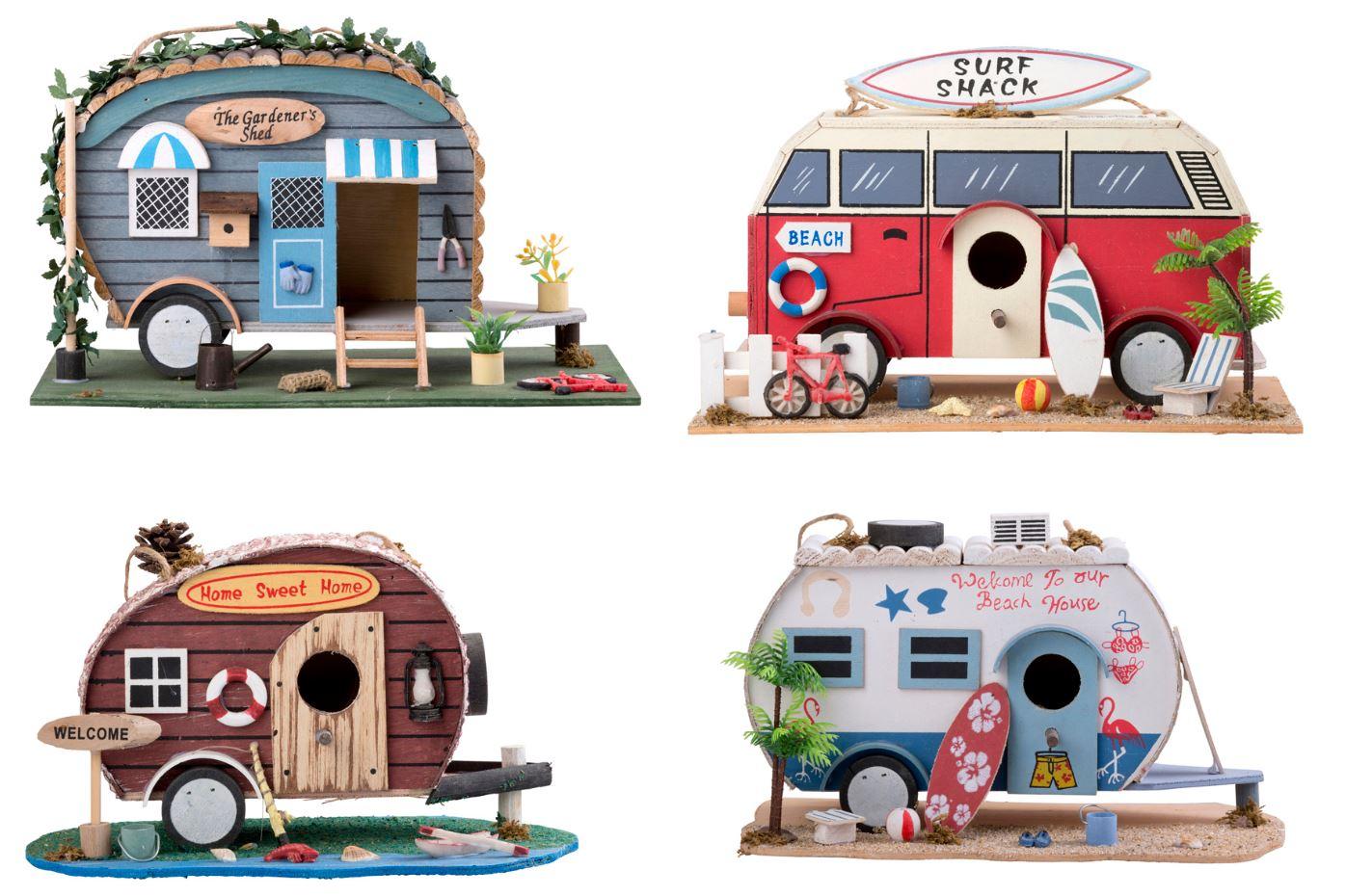 surf bus camper vogelhaus nistkasten bruthaus futterhaus. Black Bedroom Furniture Sets. Home Design Ideas