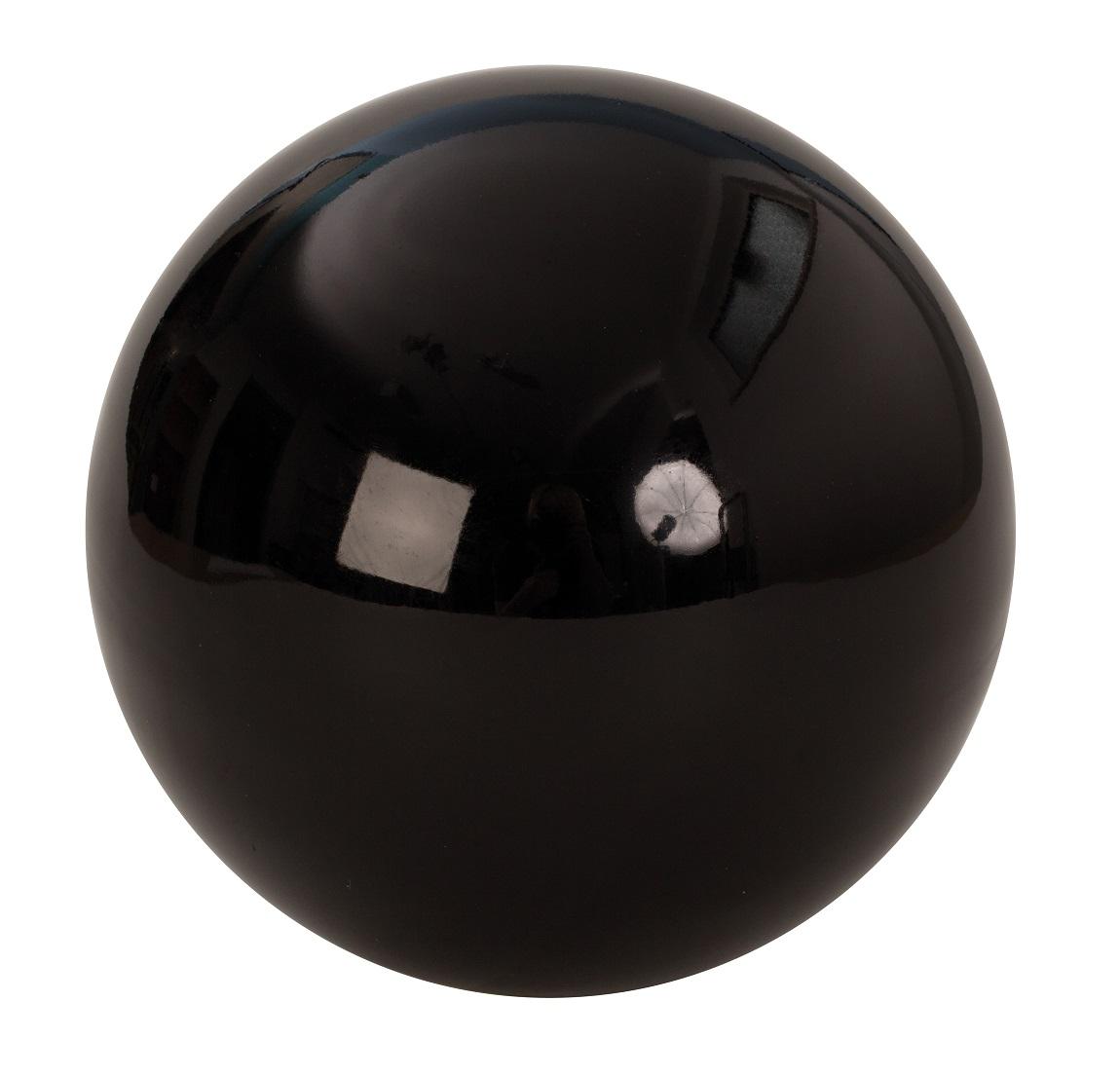 dekokugel aus edelstahl ca 15cm gro schwarz kugel garten weihnachtsdeko ebay. Black Bedroom Furniture Sets. Home Design Ideas