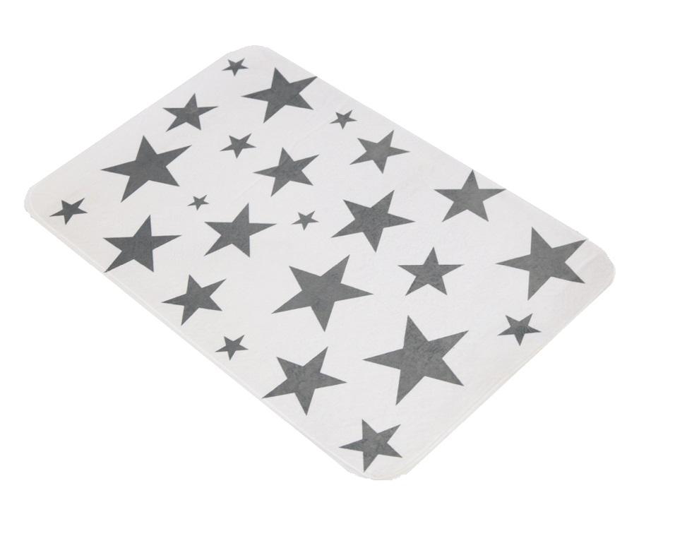 badematte graue sterne 75 cm x 45 cm duschvorleger h mmerich. Black Bedroom Furniture Sets. Home Design Ideas