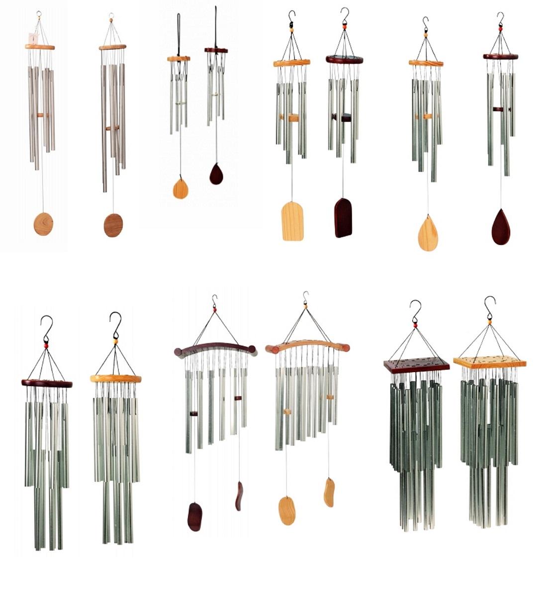 klassisches klangspiel 6 klangr hren 80cm windspiel feng shui mobile. Black Bedroom Furniture Sets. Home Design Ideas
