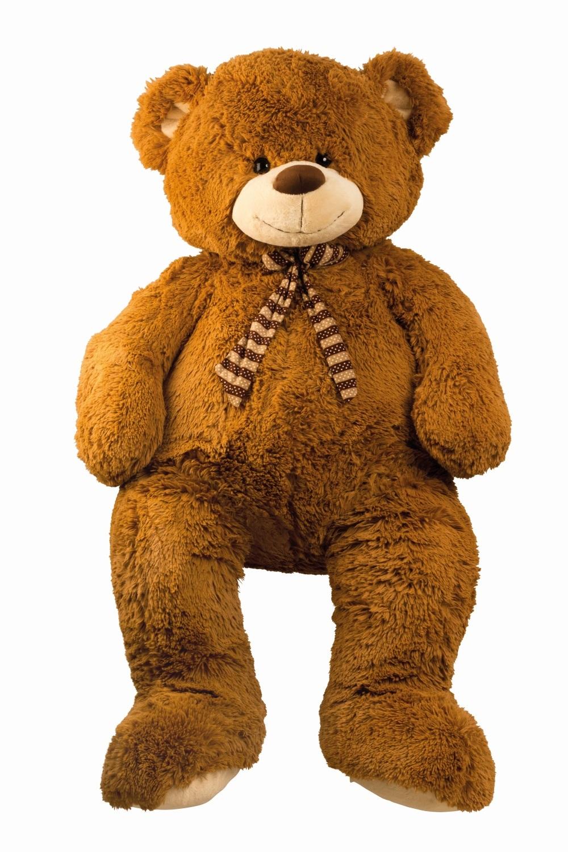 xxl riesen teddy b r 150cm hellbraun pl schtier teddyb r gro e kuscheltiere ebay. Black Bedroom Furniture Sets. Home Design Ideas