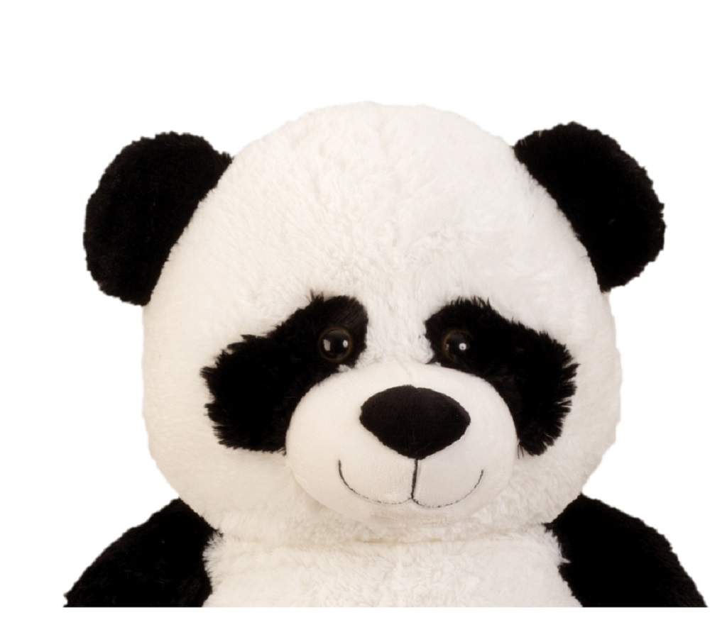 xxl panda b r teddyb r 1m riesen gro kuscheltier 100 cm teddy pandab r ebay. Black Bedroom Furniture Sets. Home Design Ideas