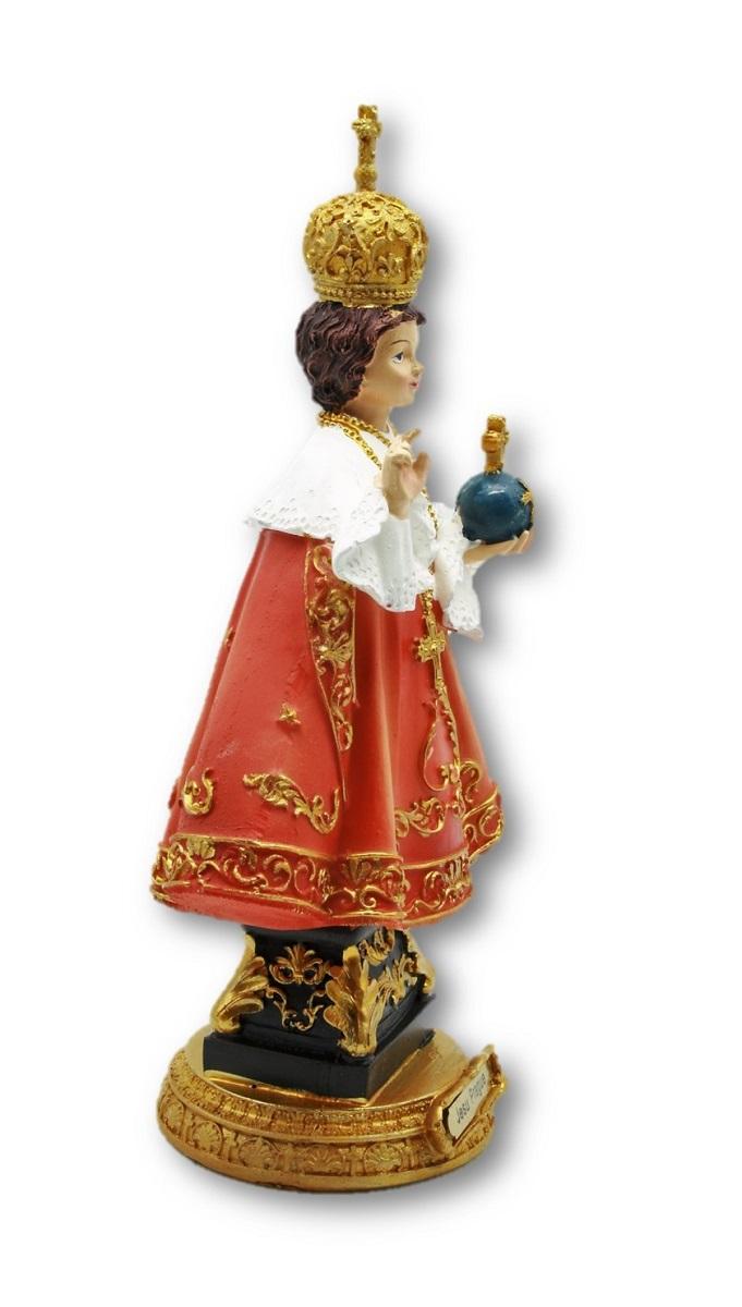 Prager Jesuskind Jesulein Figur 22 x 13 cm Skuptur Jesus Gott Glaube