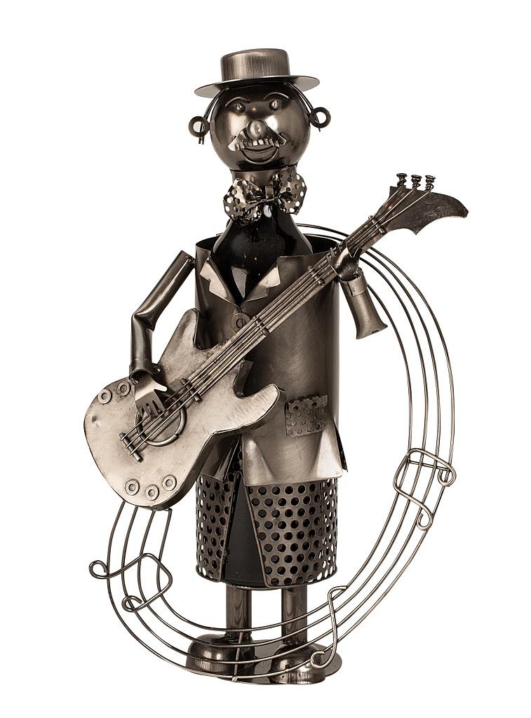 Metall Flaschenhalter Gitarrist