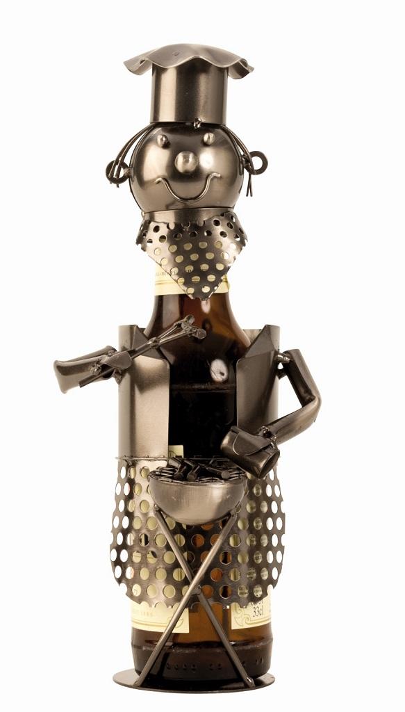 Metall Flaschenhalter Grillmeister
