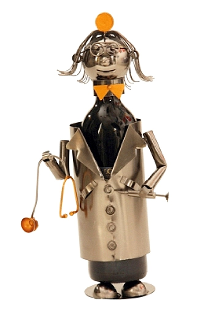 Metall Flaschenhalter Doktor