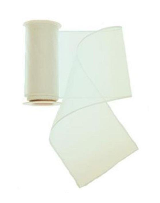 10 Rollen Tischband Organza Stoff je 3m x 12 cm Farbe Weiss Läufer (3,31 €/qm)