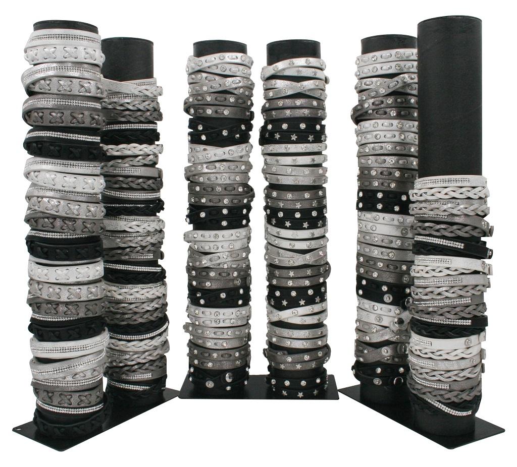 4er Set Wickelarmband Strass Nieten Sterne Armband Modeschmuck