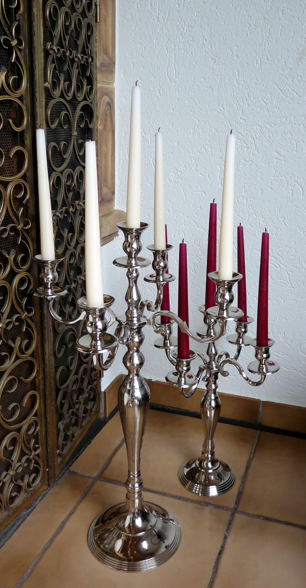 Beispiel von 2 Kerzenleuchtern