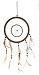 BRAUN Feng Shui Traumfänger Ø 28 cm mit Federn ca. 65 cm lang