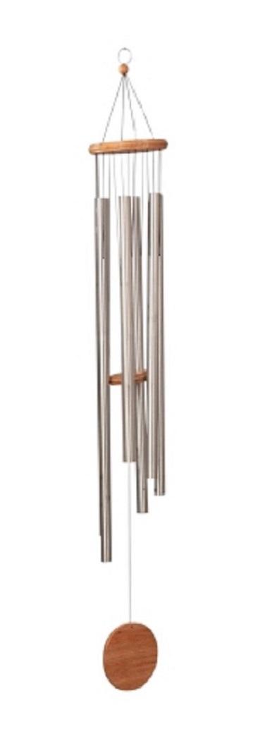 Klangspiel 6 Klangröhren 1,70m  grosses Windspiel Mobille