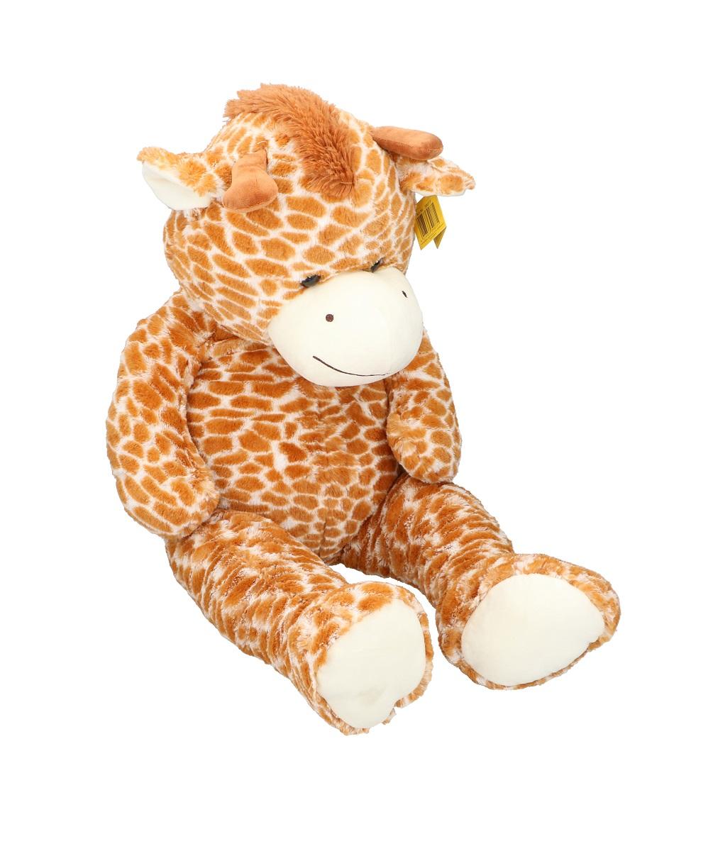 Details zu XXL Plüschtier Giraffe 100 cm Sunkid Kuscheltier weich Plüsch braun Stofftier