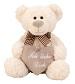 _  Bär mit Herz Ich liebe Dich Kuscheltier Creme Weiß Teddy Plüschtier