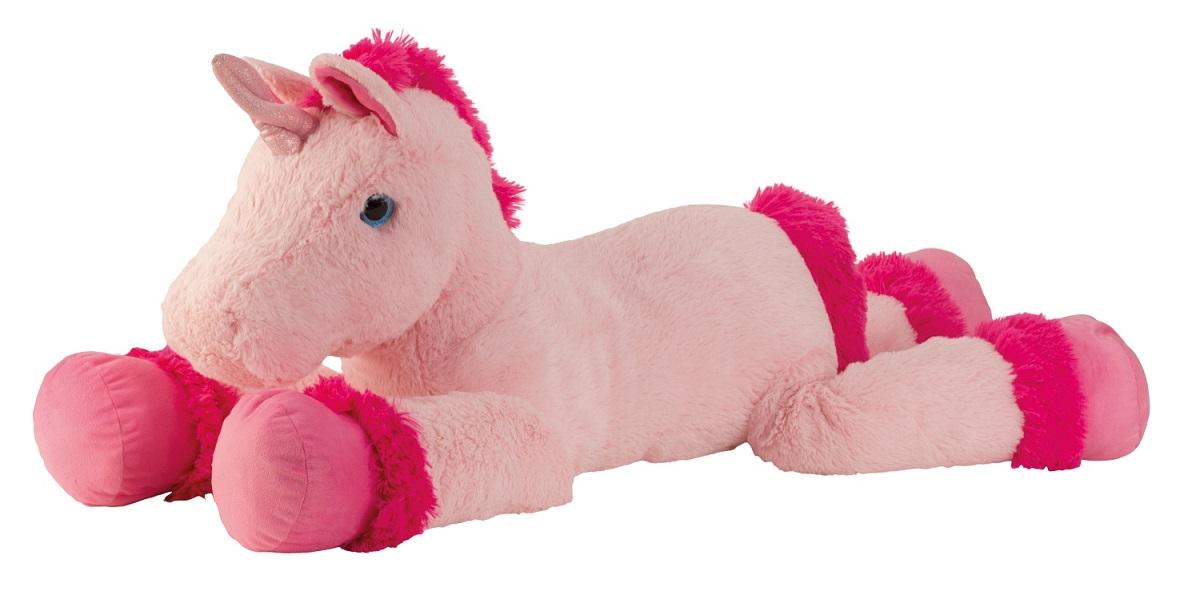 xxl einhorn rosa pink ca 110 cm pl schtier kuscheltier. Black Bedroom Furniture Sets. Home Design Ideas