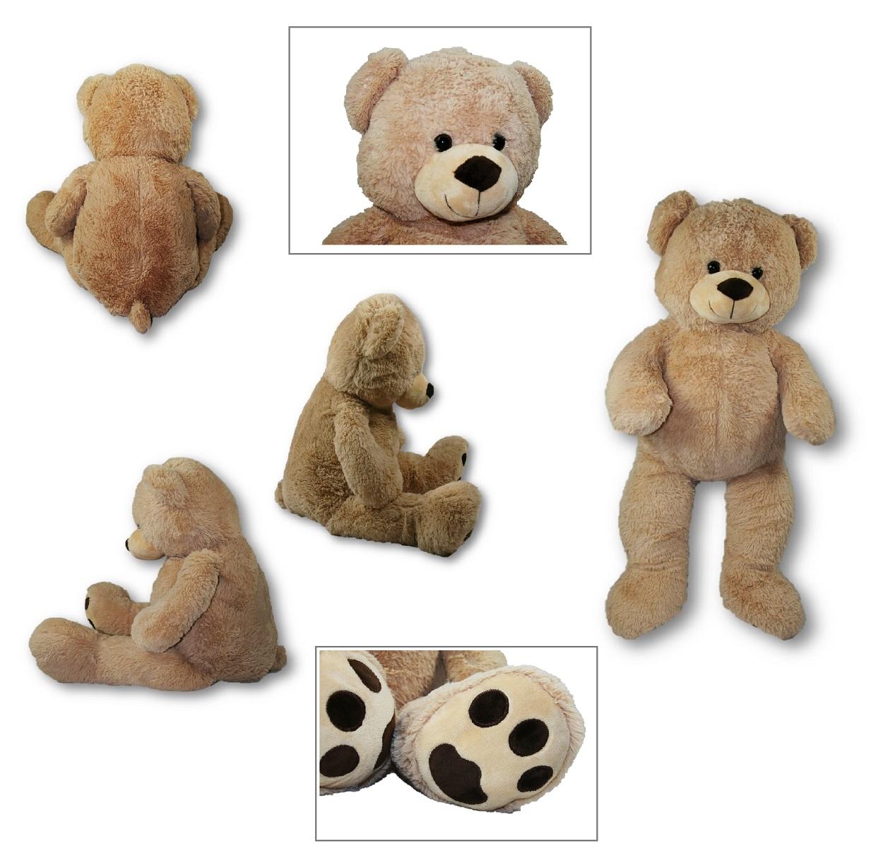 XXL Teddybär Bär 1m riesen groß Kuscheltier 100 cm Teddy Plüschtier ...