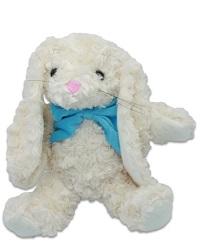 _  BLAU Hase mit blauer Schleife 35 cm Kuscheltier Stofftier