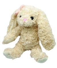 _  ROSA Hase mit rosa Schleife 35 cm Kuscheltier Stofftier