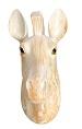 ´ CREME Spardose Pferdekopf 25 cm zum Hängen