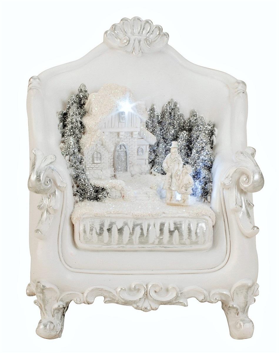 Led stuhl mit winterlandschaft 11 cm x 15 cm - Winterlandschaft dekoration ...