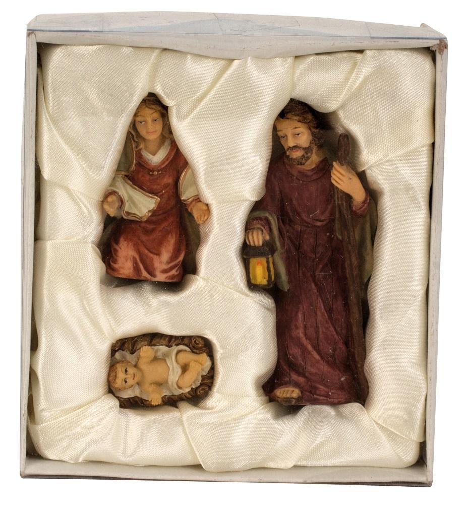 .. Krippenfiguren 3 teiliges Set Krippe Weihnachten Grösse bis 8,7cm