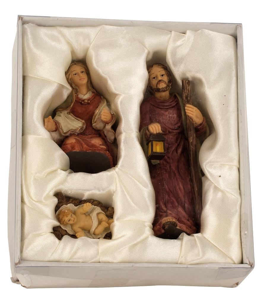 .. Krippenfiguren 3 teiliges Set Krippe Weihnachten Grösse bis 11cm